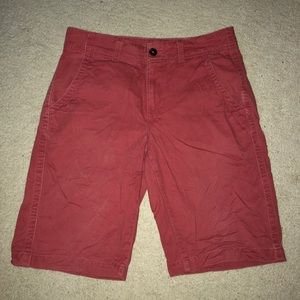 Urban Pipeline Red Tinted Shorts